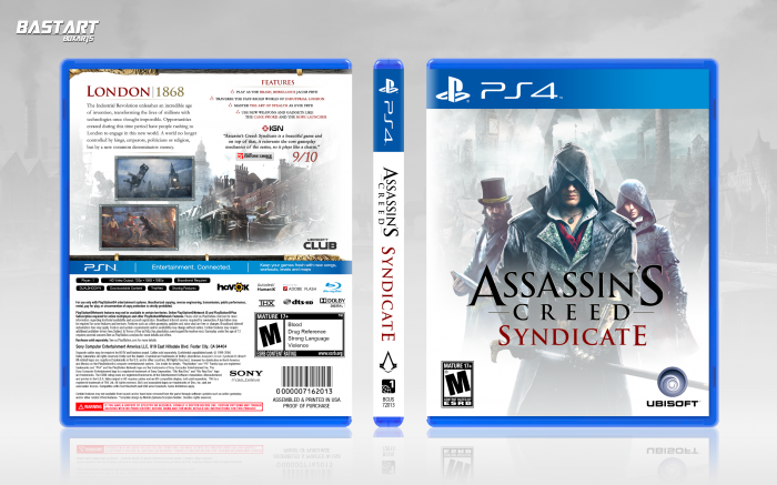 Assassin's Creed: Syndicate box art cover