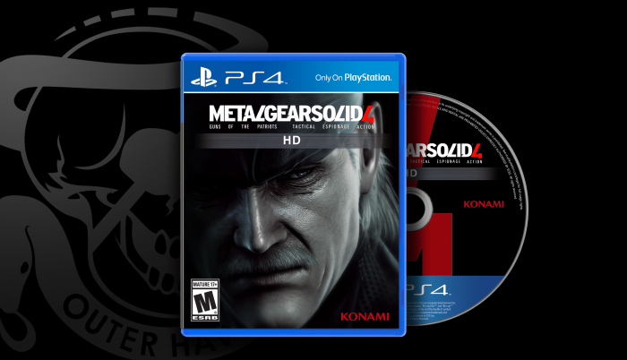 Metal Gear Solid 4 : Guns Of The Patriots box art cover
