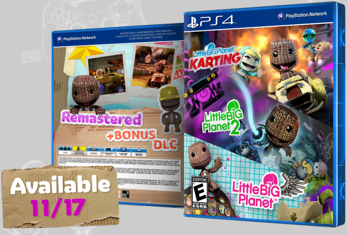 LittleBigPlanet Remastered Bundle box art cover