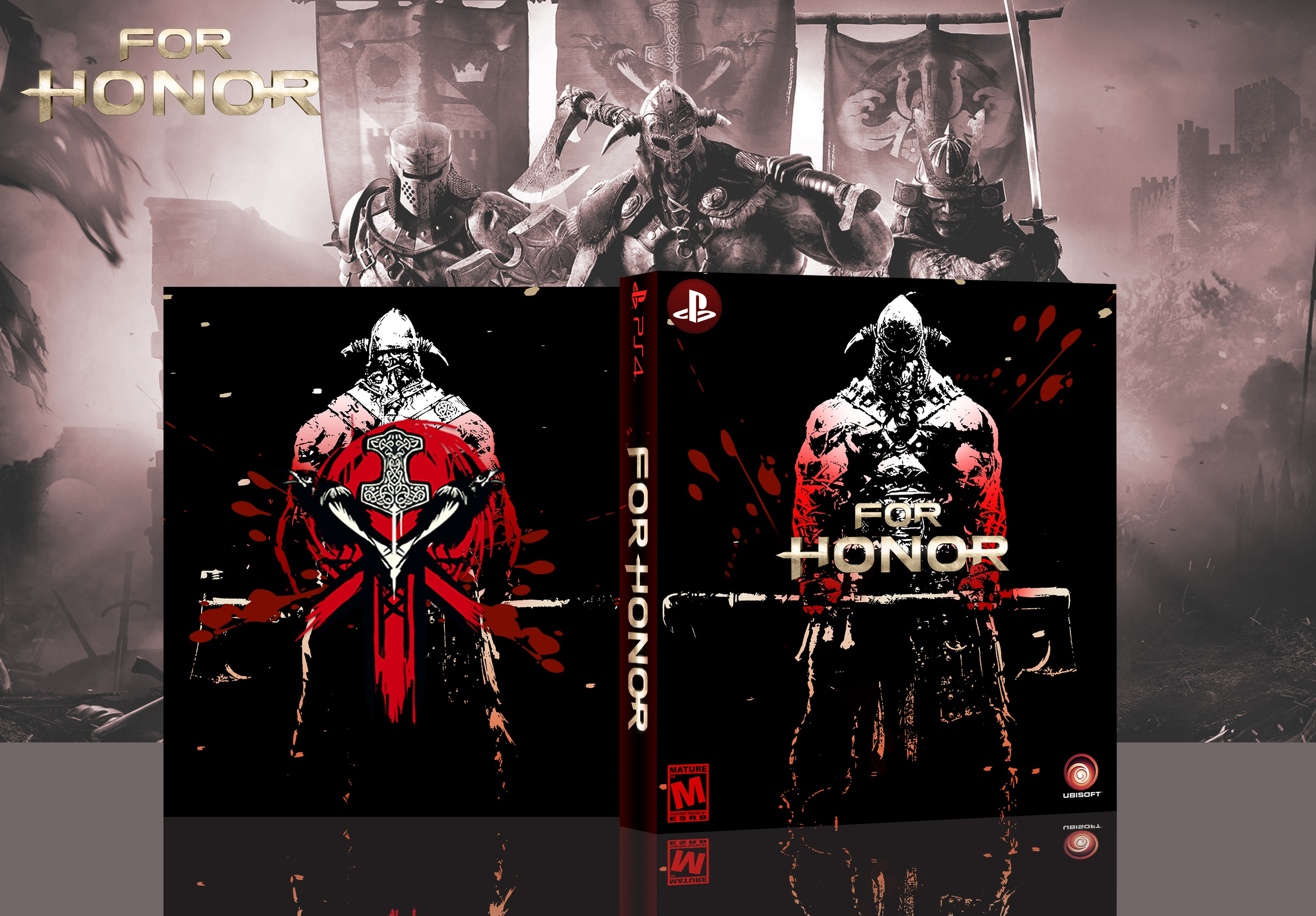 For Honor Vikings box cover