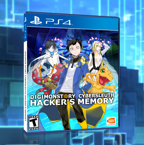 Digimon Story Cyber Sleuth: Hacker's Memory box art cover