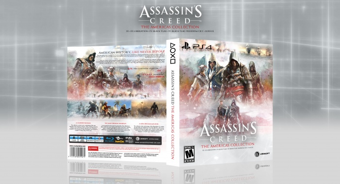 Assassin's Creed: The Americas Collection box art cover
