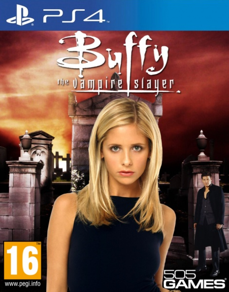 Buffy the Vampire Slayer box art cover