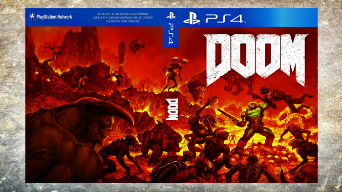 Doom (2016) box art cover