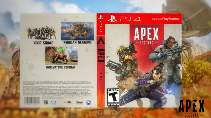 Apex Legend box art cover