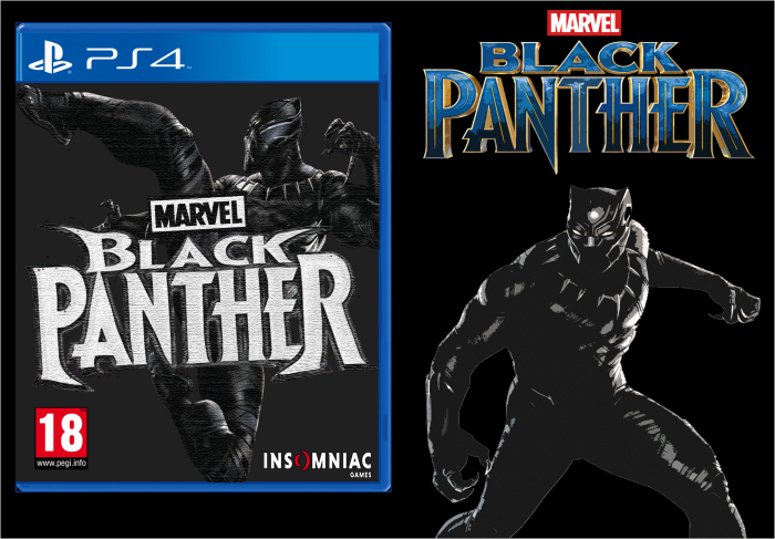 Black Panther (PS4) Insomniac box art cover