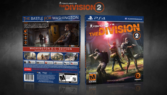 Tom Clancy's The Division 2 box art cover