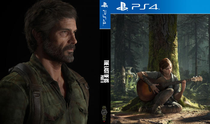 The Last of Us Part II box art cover