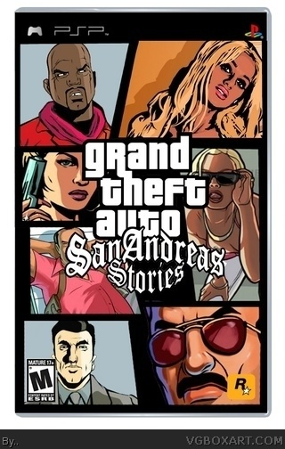 Grand Theft Auto: San Andreas Stories box cover