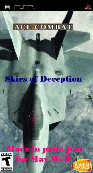 Ace Combat X: Skies of Deception box cover