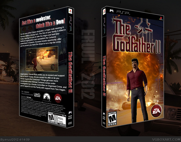 The Godfather 2 box art cover