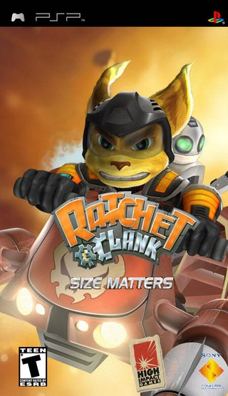 Ratchet & Clank: Size Matters box cover