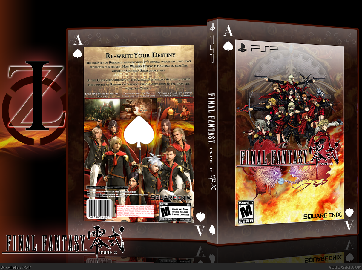 Final Fantasy Type-0 box cover
