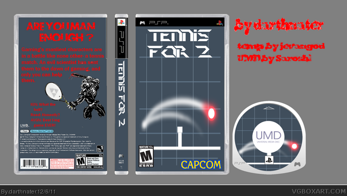 Tennis For Two box art cover