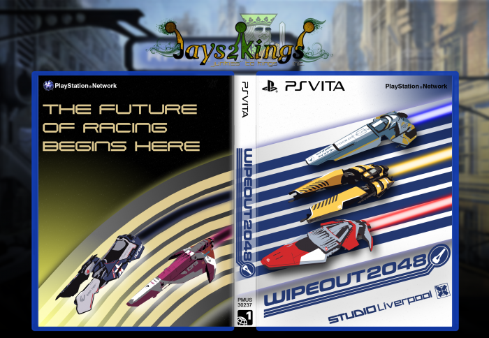 Wipeout 2048 box art cover