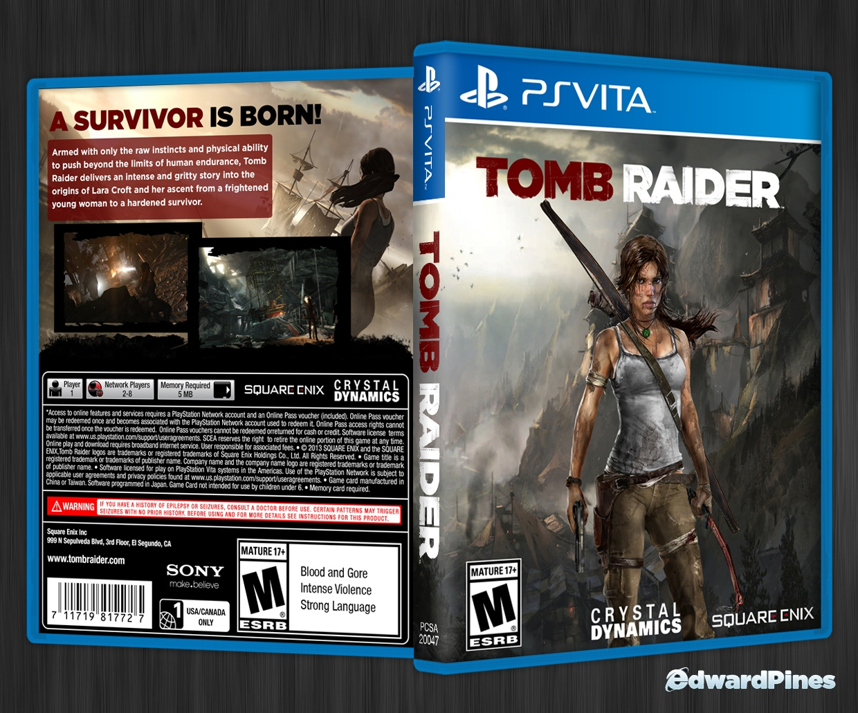 Tomb Raider box cover