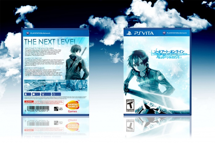 Sword Art Online: Hollow Fragment box art cover