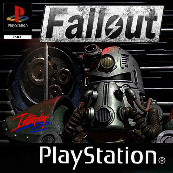 FALLOUT ON PLAYSTATION box cover