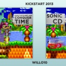 Sonic CD Box Art Cover