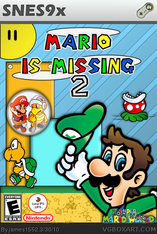 Mario is Missing 2 box cover