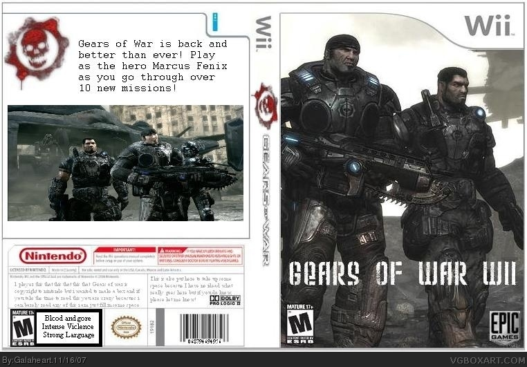 Gears of War box cover
