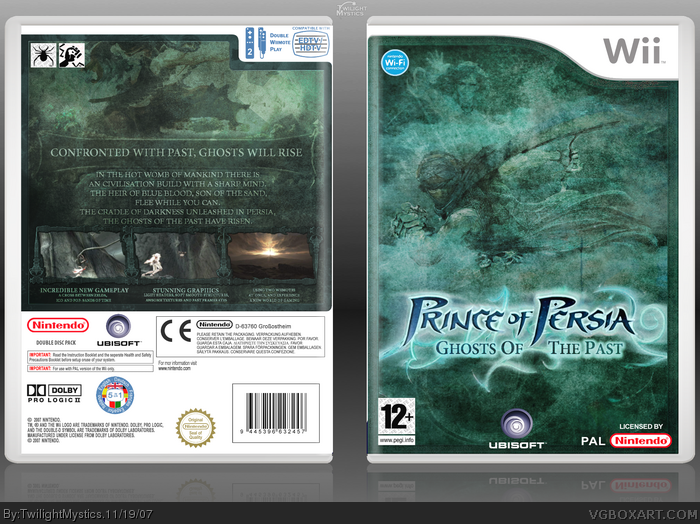 Prince of Persia: Ghosts of the Past box art cover