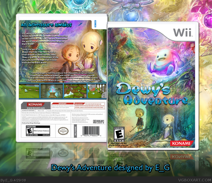 Dewy's Adventure box art cover