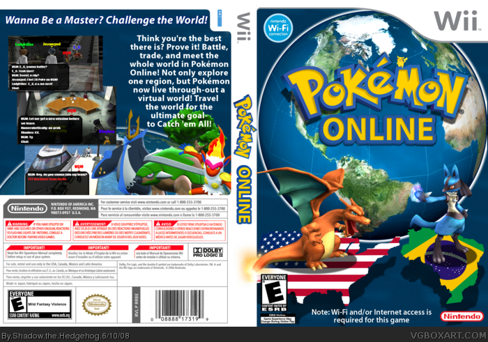 Pokemon: Online box art cover