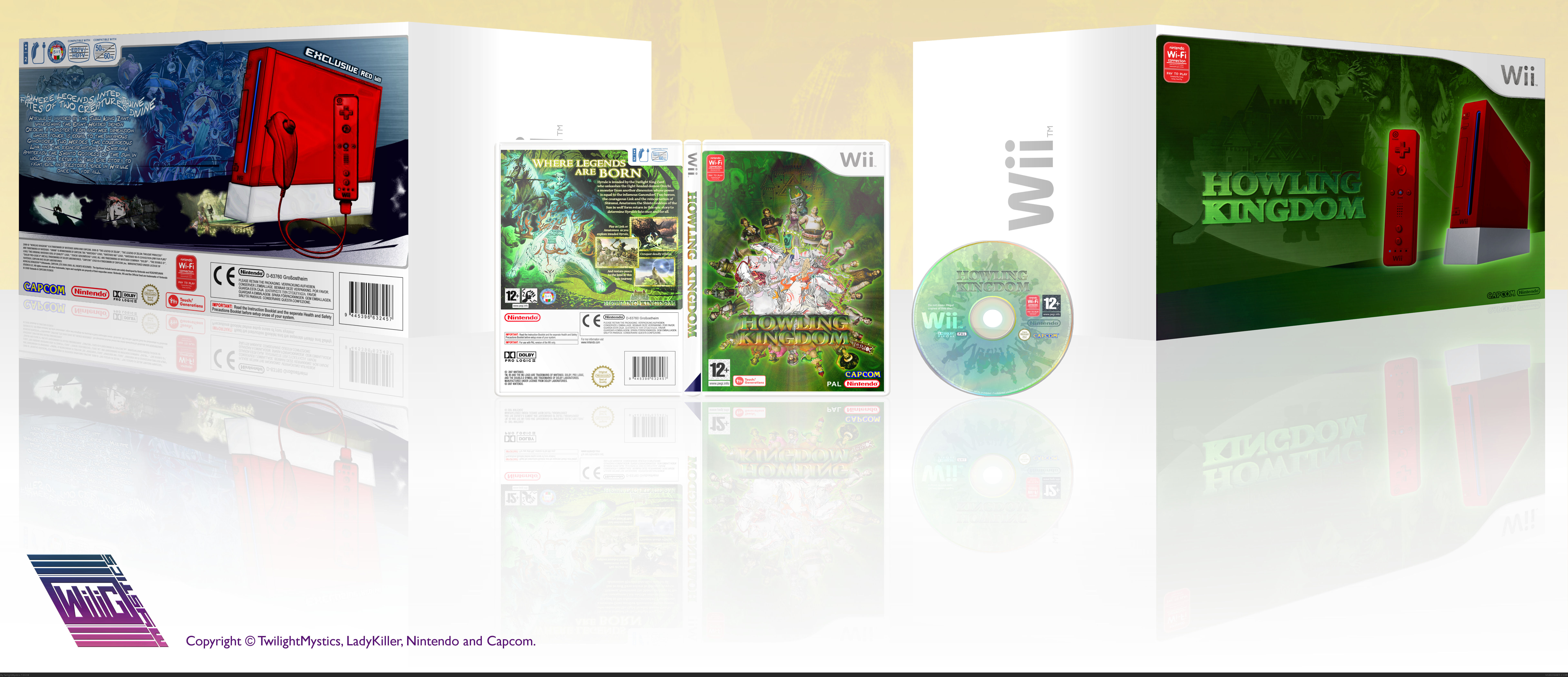 Howling Kingdom ( Inclusive Wii Bundle Boxart) box cover