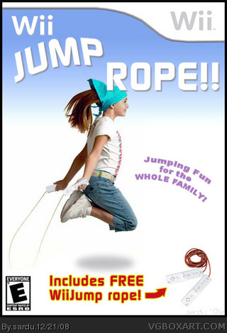 Wii Jump Rope box cover