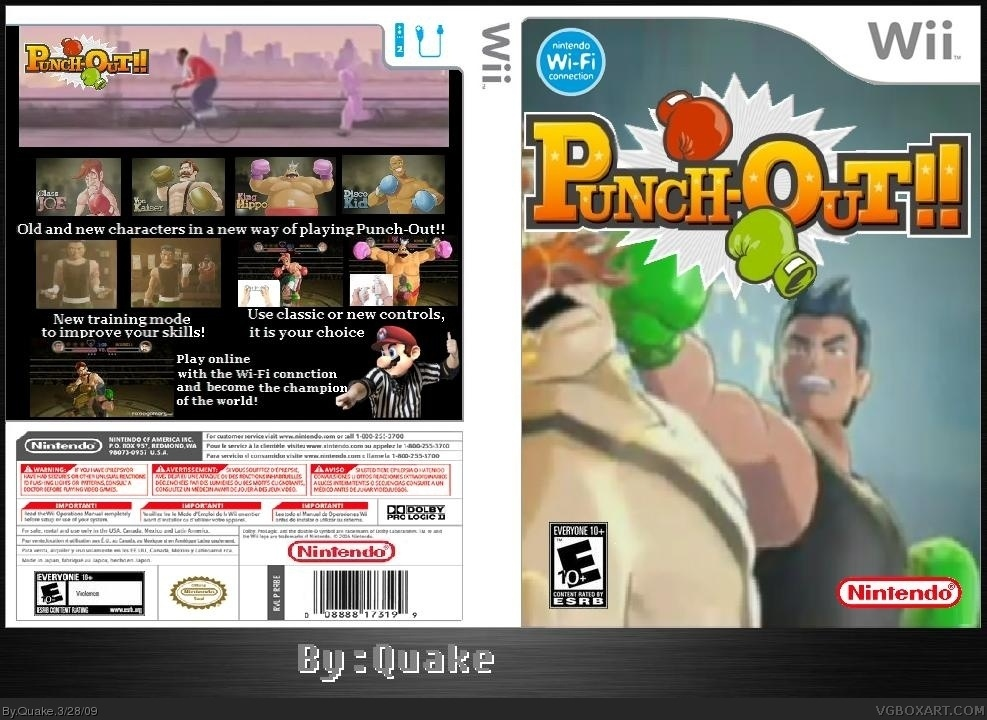Punch Out!! box cover