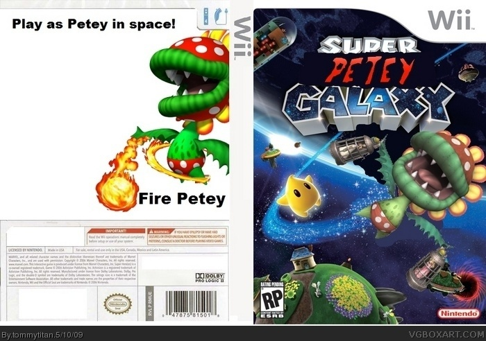 Super Petey Galaxy box art cover