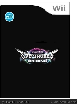 Spectrobes: Origins box cover