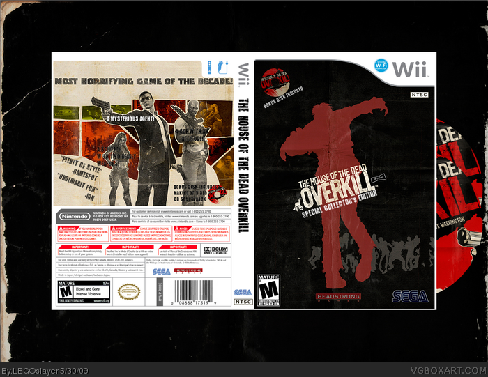 The House of the Dead: Overkill box art cover