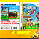 New Super Mario Bros. Wii Box Art Cover