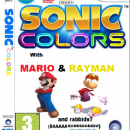Sonic colors cover Box Art Cover