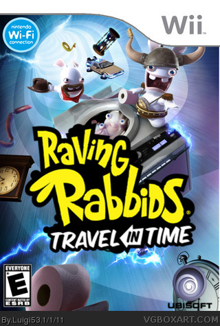 Raving Rabbids Travel In Time box art cover