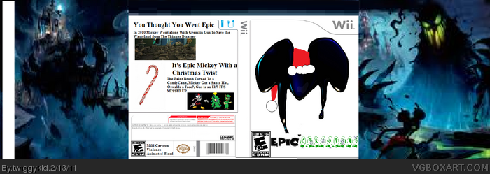 Epic Christmas box art cover