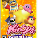 Kirby's Return To Dreamland Box Art Cover