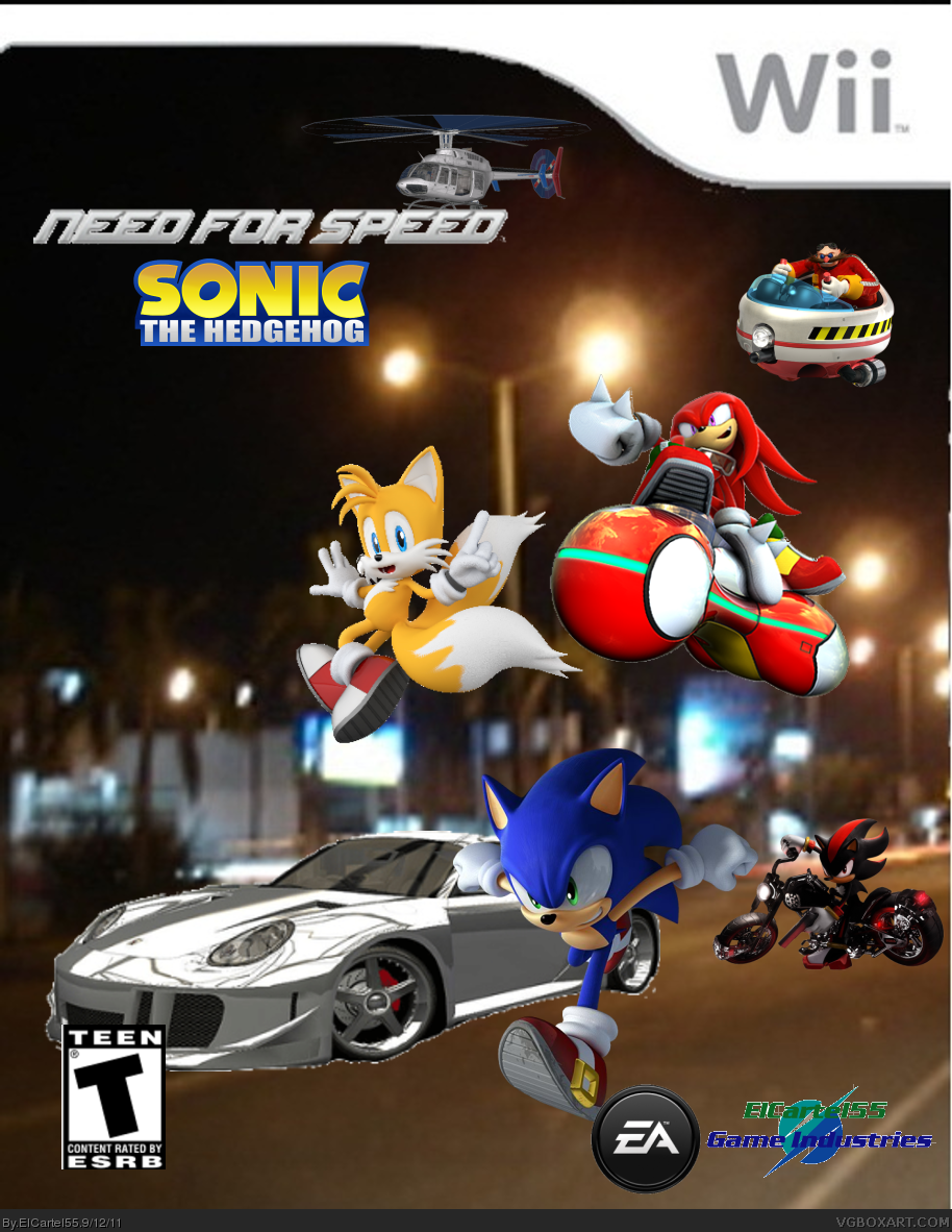 Need for Speed: Sonic the Hedgehog box cover