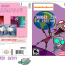 Invader Zim Wii Box Art Cover