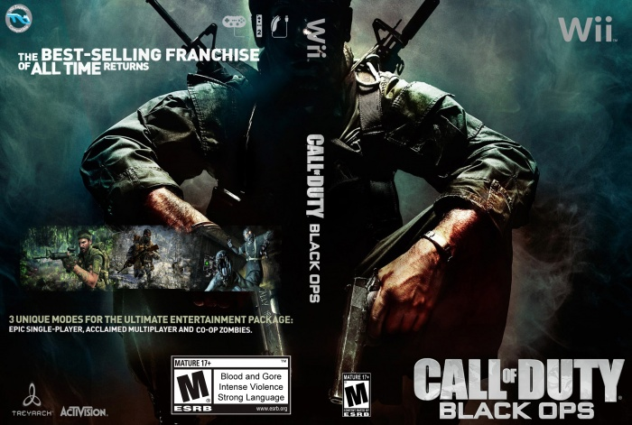 Call Of Duty Black Ops box art cover