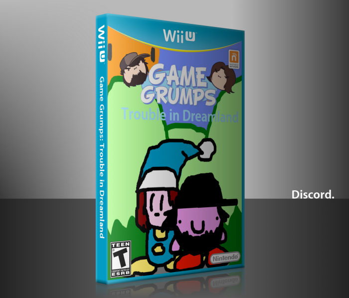 Game Grumps: Trouble in Dreamland box art cover