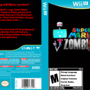 Super Mario ZombiU Box Art Cover