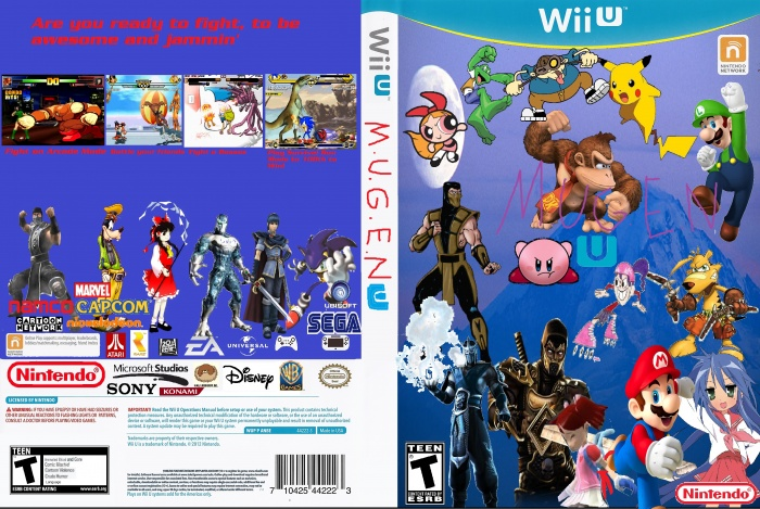 M.U.G.E.N. U box art cover