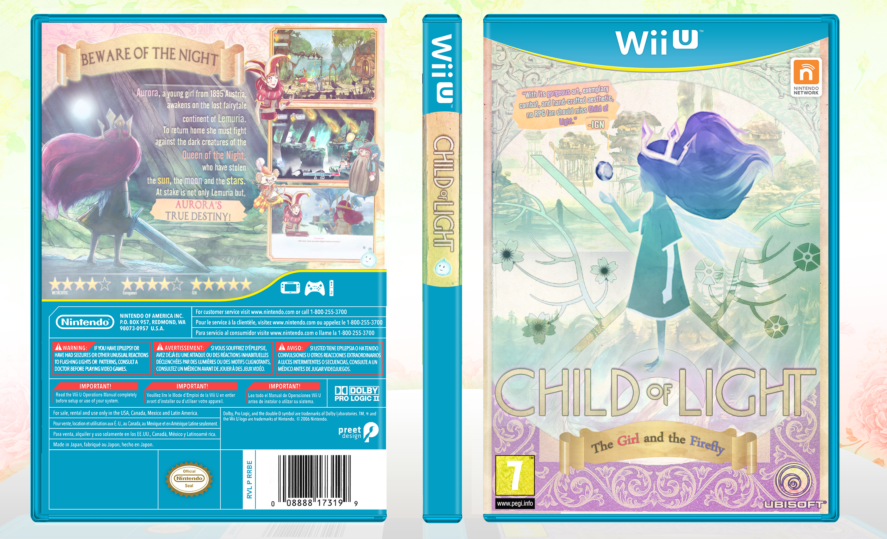 Child of Light box cover