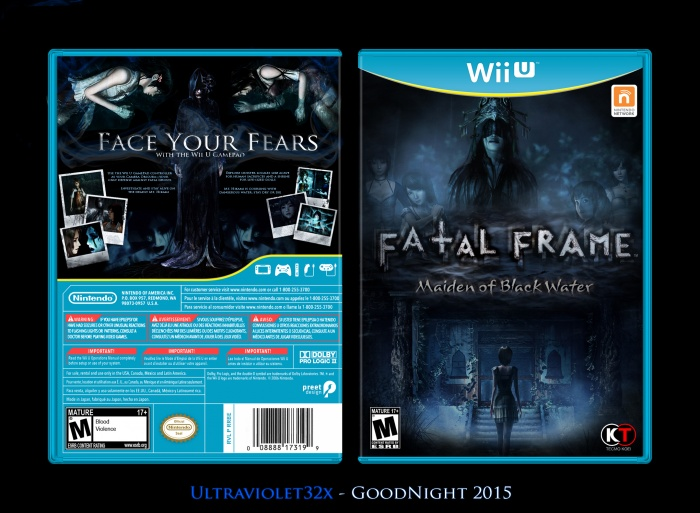 Fatal Frame: Maiden of Blackwater box art cover