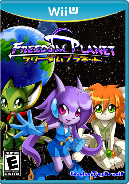 Freedom Planet box art cover