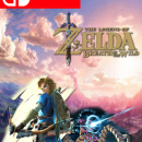 Zelda Breath of the Wild *Nintendo Switch* Box Art Cover