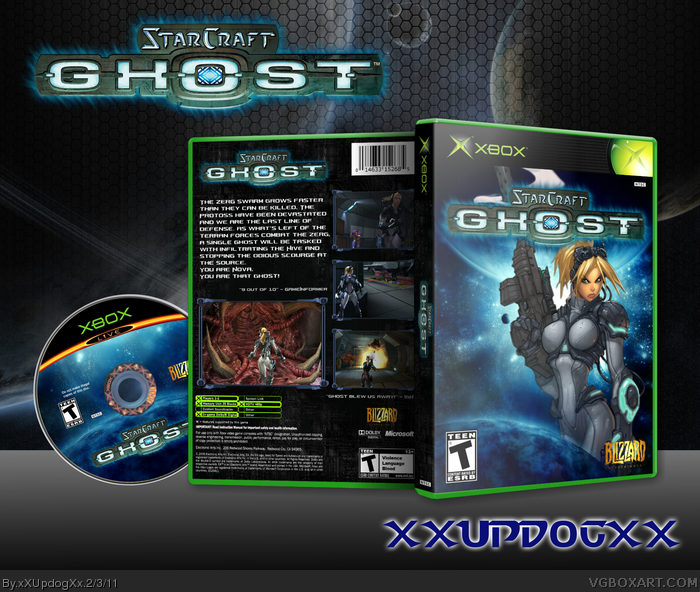Starcraft: Ghost box art cover